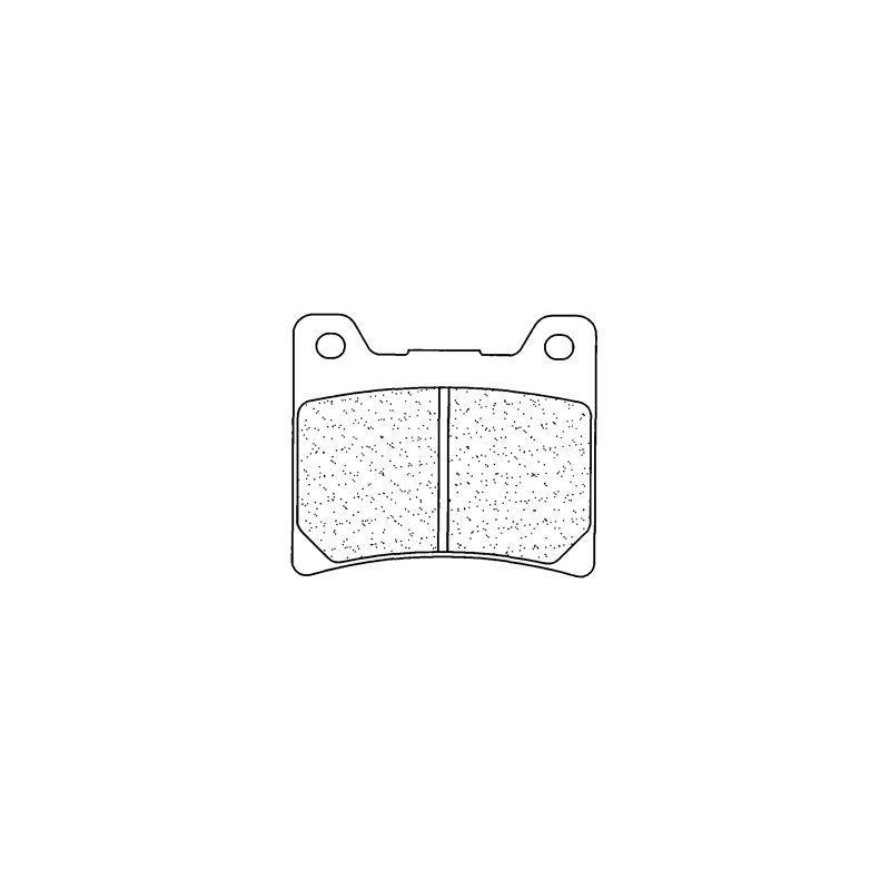 Plaquettes de frein Carbone Lorraine 2283S4