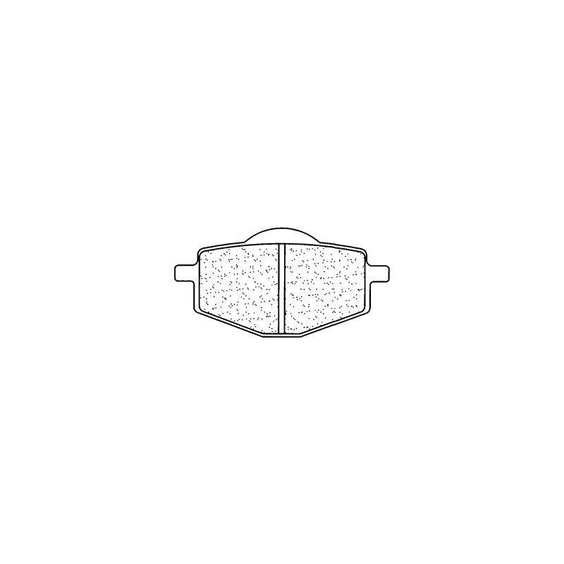 Plaquettes de frein Carbone Lorraine 2284A3+