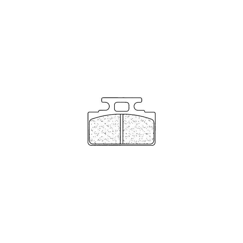 Plaquettes de frein Carbone Lorraine 2287RX3
