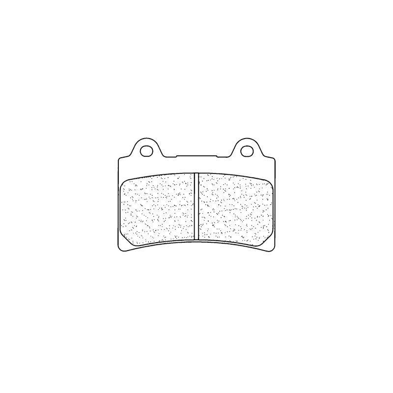 Plaquettes de frein Carbone Lorraine 2305XBK5