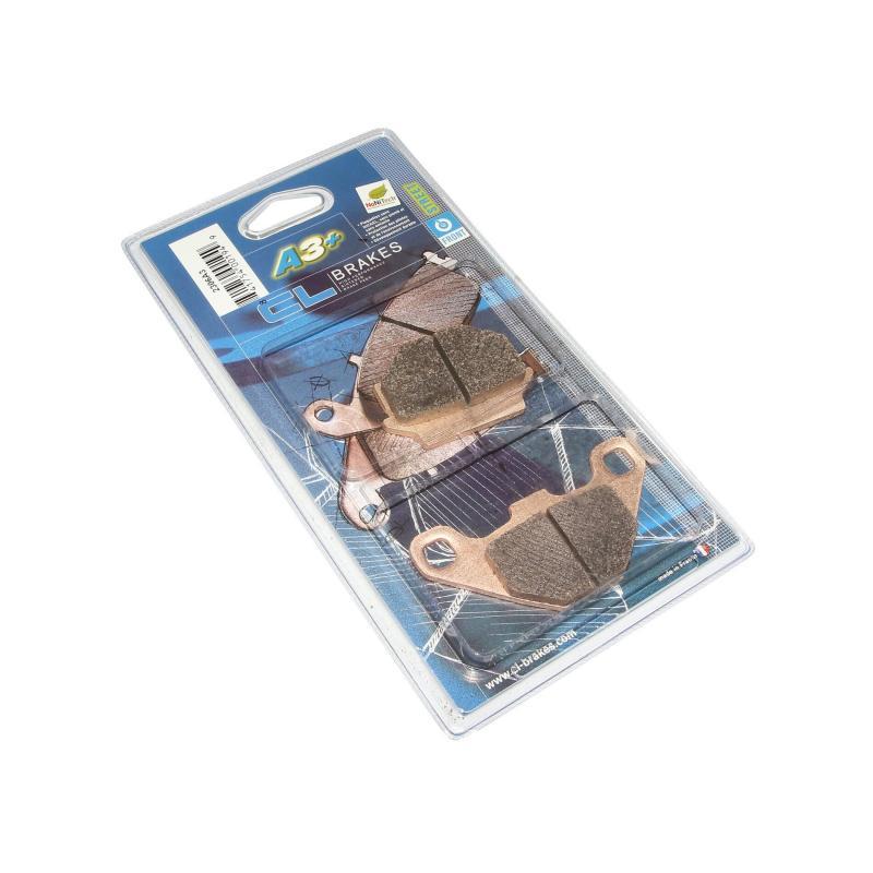 Plaquettes de frein Carbone Lorraine 2306A3+