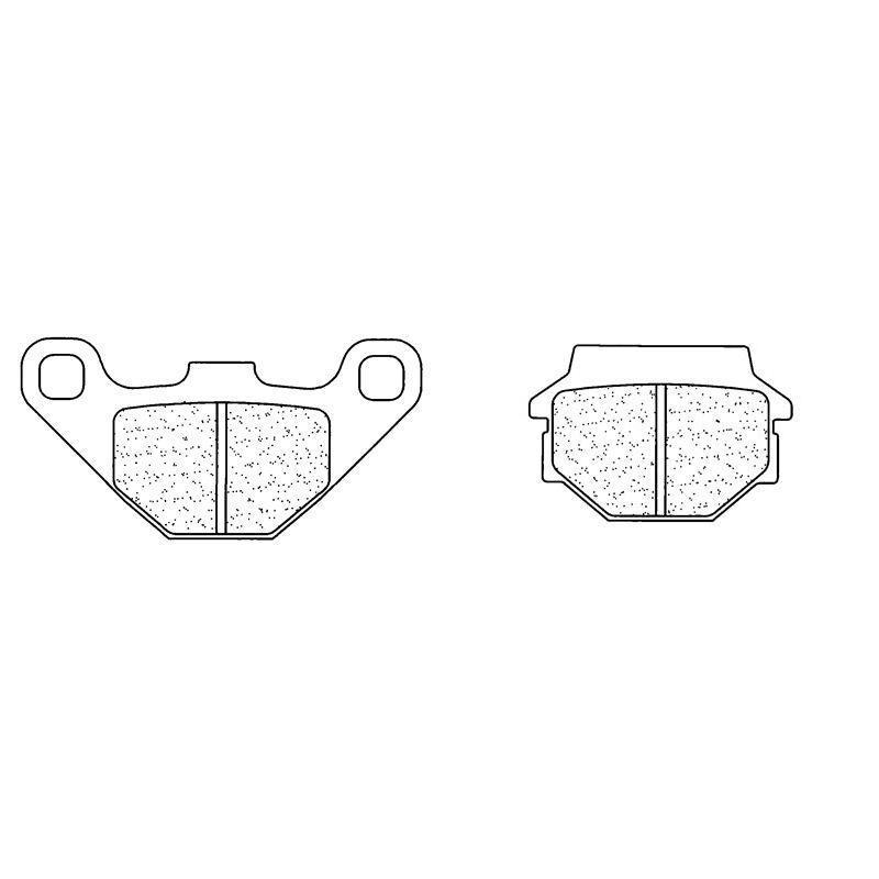 Plaquettes de frein Carbone Lorraine 2306MX10