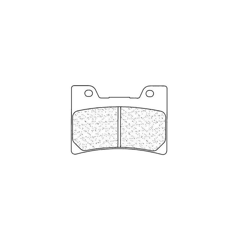 Plaquettes de frein Carbone Lorraine 2311A3+