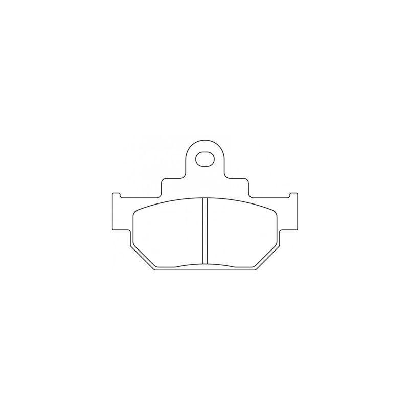 Plaquettes de frein Carbone Lorraine 2387A3+
