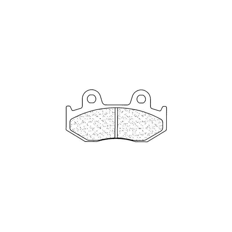 Plaquettes de frein Carbone Lorraine 2451A3+