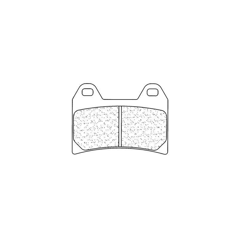 Plaquettes de frein Carbone Lorraine 2539A3+