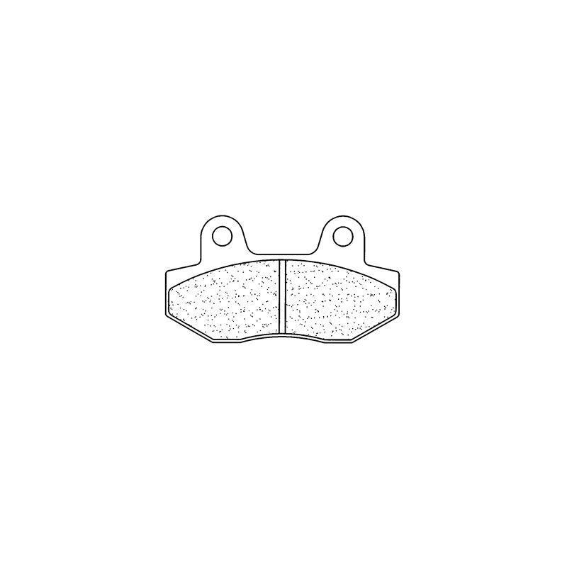 Plaquettes de frein Carbone Lorraine 2621S4