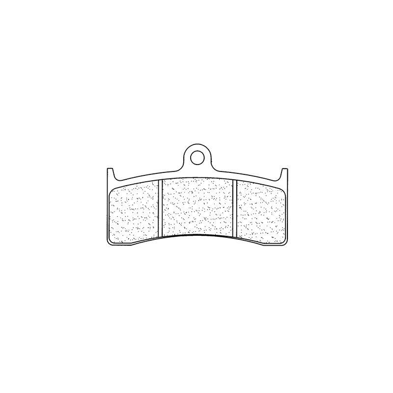 Plaquettes de frein Carbone Lorraine 2899A3+