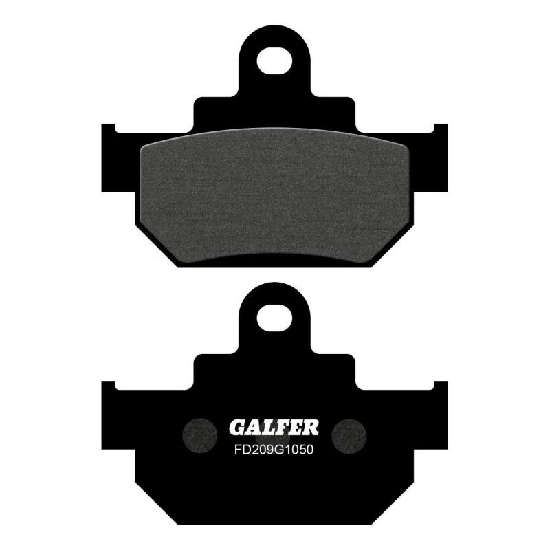 Plaquettes de frein Galfer G1050 semi-métal FD209 Suzuki GZ 125 Marauder 98-10