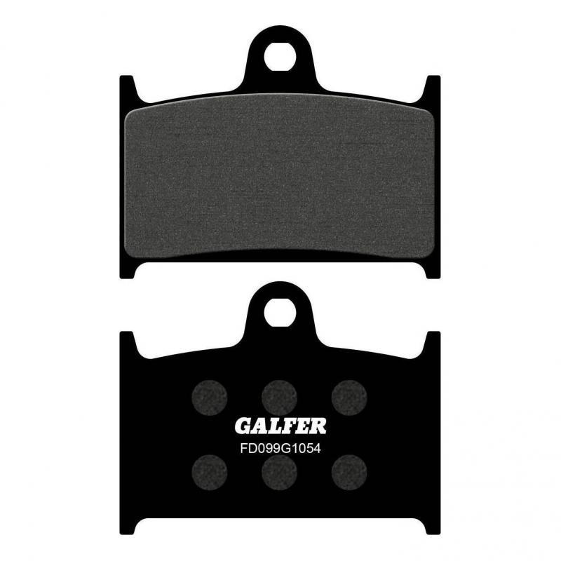 Plaquettes de frein Galfer G1054 semi-métal FD099