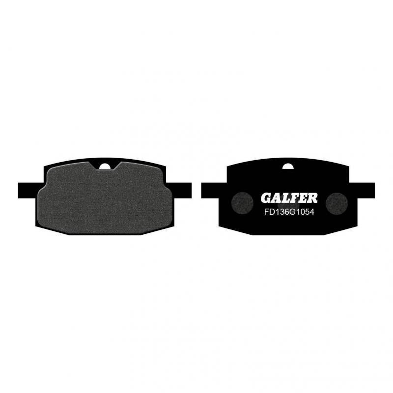 Plaquettes de frein Galfer G1054 semi-métal FD136 PGO Big Max 50 95-06