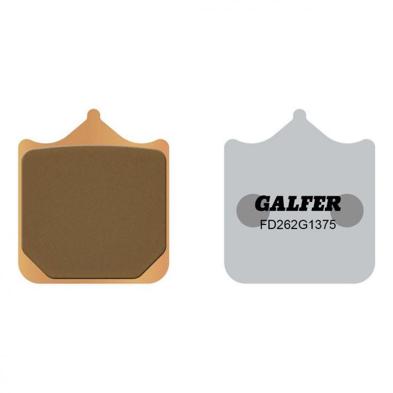 Plaquettes de frein Galfer G1375 sinter FD262