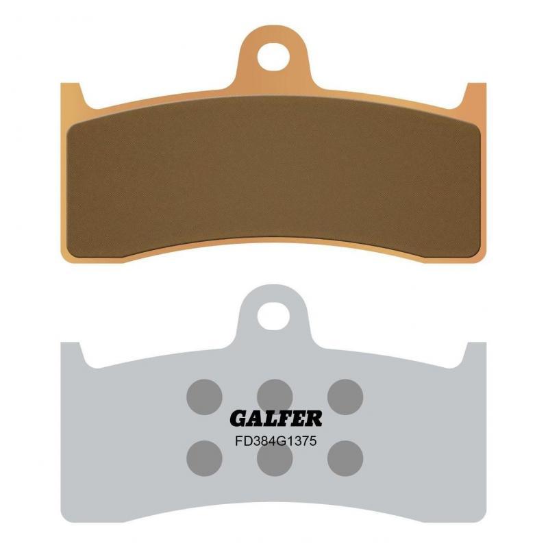 Plaquettes de frein Galfer G1375 sinter FD384