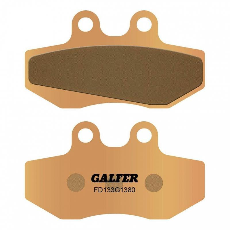 Plaquettes de frein Galfer G1380 sinter FD133 AJP PR4 125 Supermoto 07-09