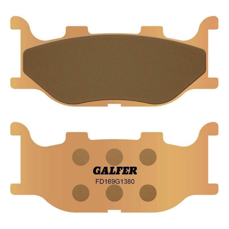 Plaquettes de frein Galfer G1380 sinter FD169