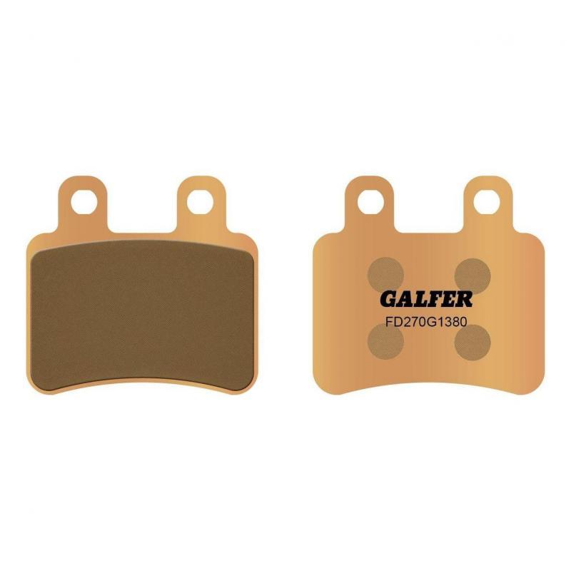 Plaquettes de frein Galfer G1380 sinter FD270 Peugeot Elyseo 125 01-04