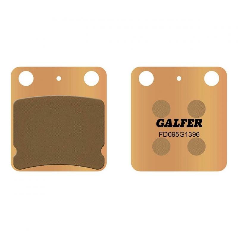 Plaquettes de frein Galfer G1396 sinter FD095