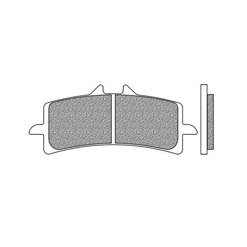 Plaquettes de frein Newfren Racing sinter .FD.0415 S4R