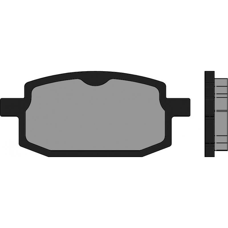 Plaquettes de frein Polini Original Booster/BW's 100