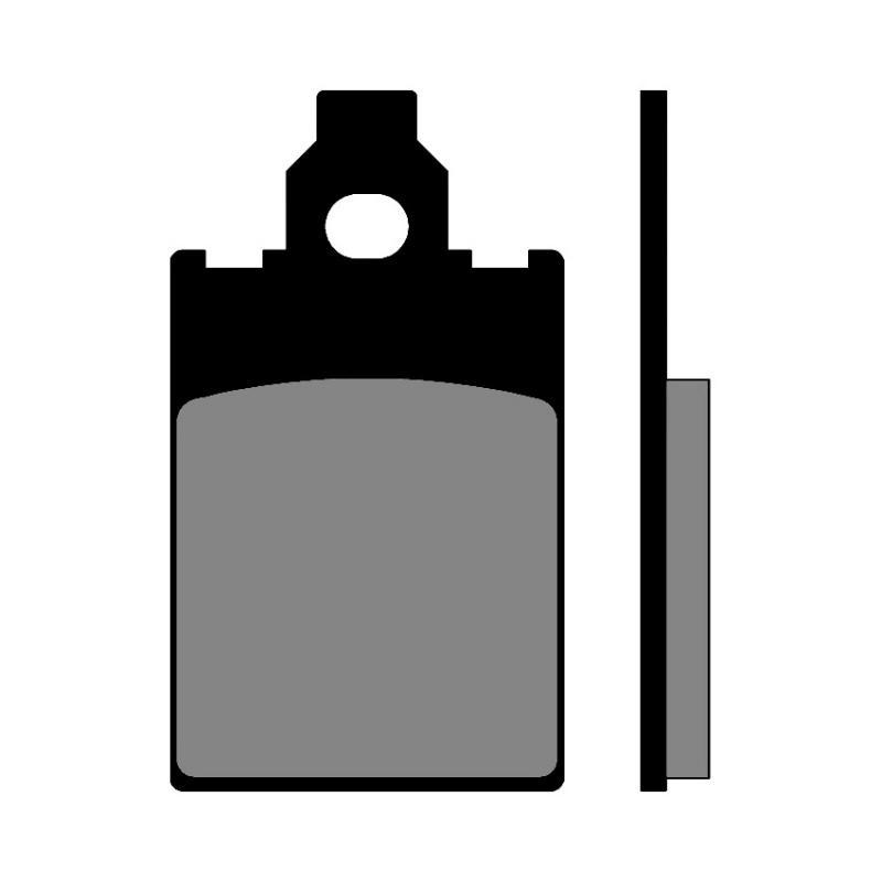 Plaquettes de frein Polini Original X-Limit/DT 50 R
