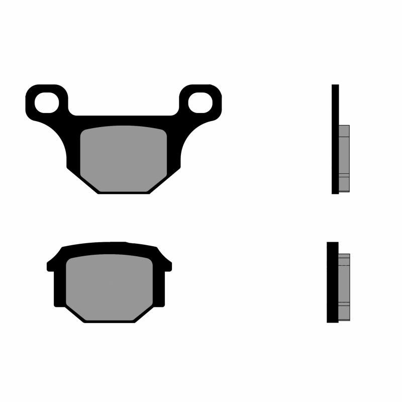 Plaquettes de frein Polini Rieju MRT 09-10