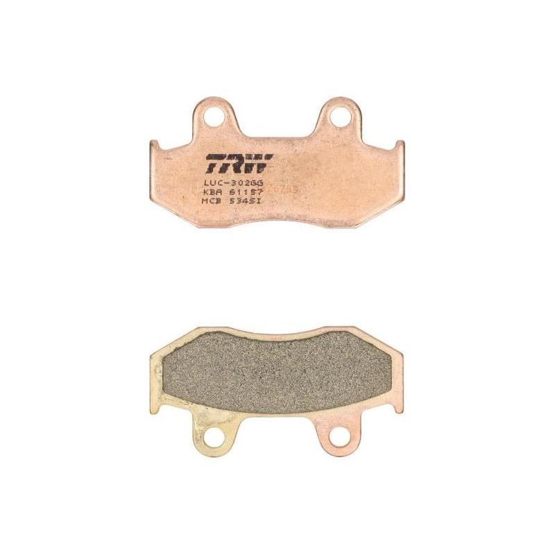 Plaquettes de frein TRW métal fritté MCB534SI