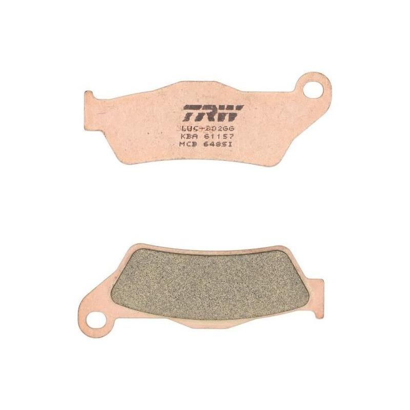 Plaquettes de frein TRW métal fritté MCB648SI