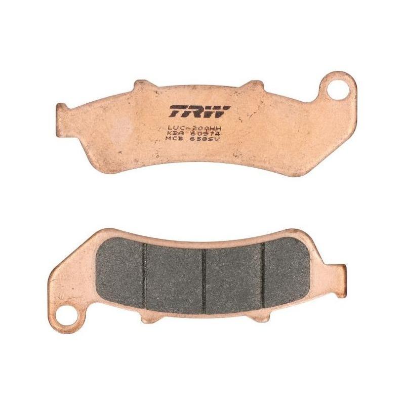 Plaquettes de frein TRW métal fritté MCB658SV