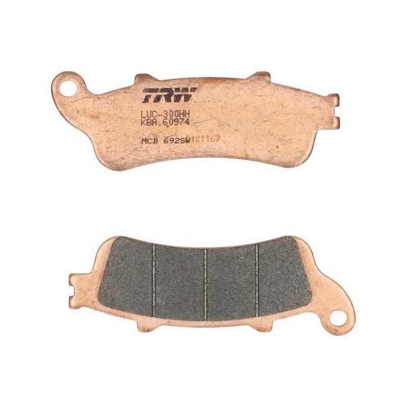 Plaquettes de frein TRW métal fritté MCB692SV