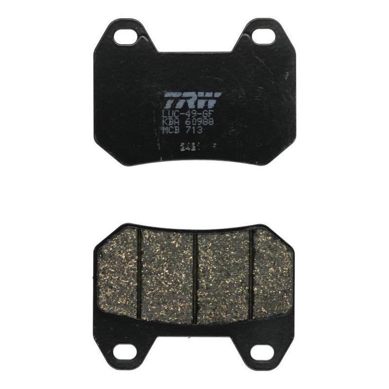 Plaquettes de frein TRW organique MCB713