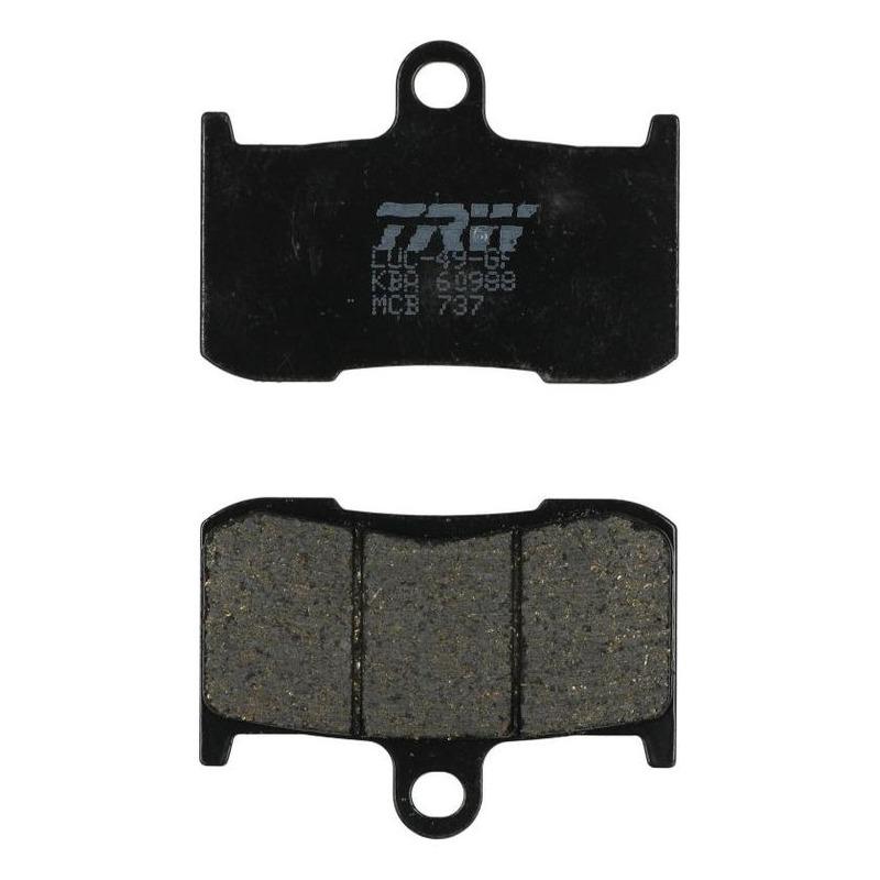 Plaquettes de frein TRW organique MCB737