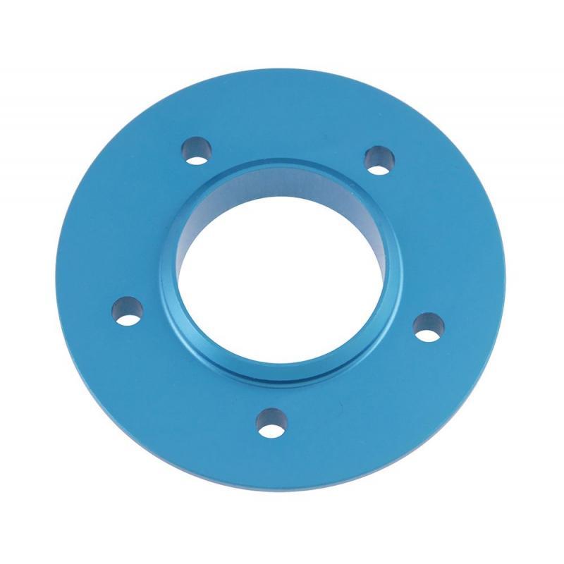 Platine de Silencieux Aluminium Bleu Anodisé Voca Racing