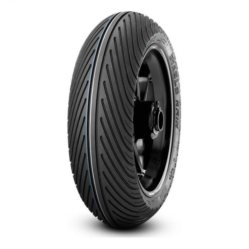 Pneu moto avant Pirelli Diablo Rain SCR1 110/70 R 17 TL
