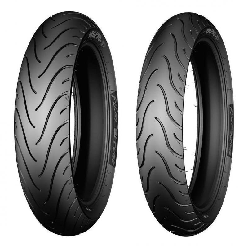 Pneu moto Michelin Pilot Street 70/90-17 38S TL/TT