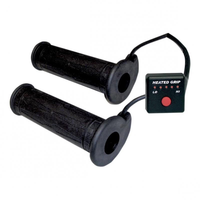 Poignées chauffantes Koso L120mm pour guidon 22 mm