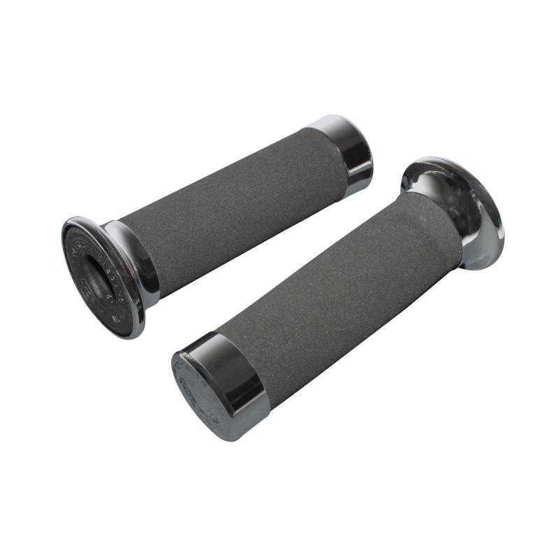 Poignées Progrip 860 custom noir/chrome
