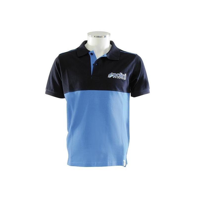 Polo Polini Evo bleu/noir
