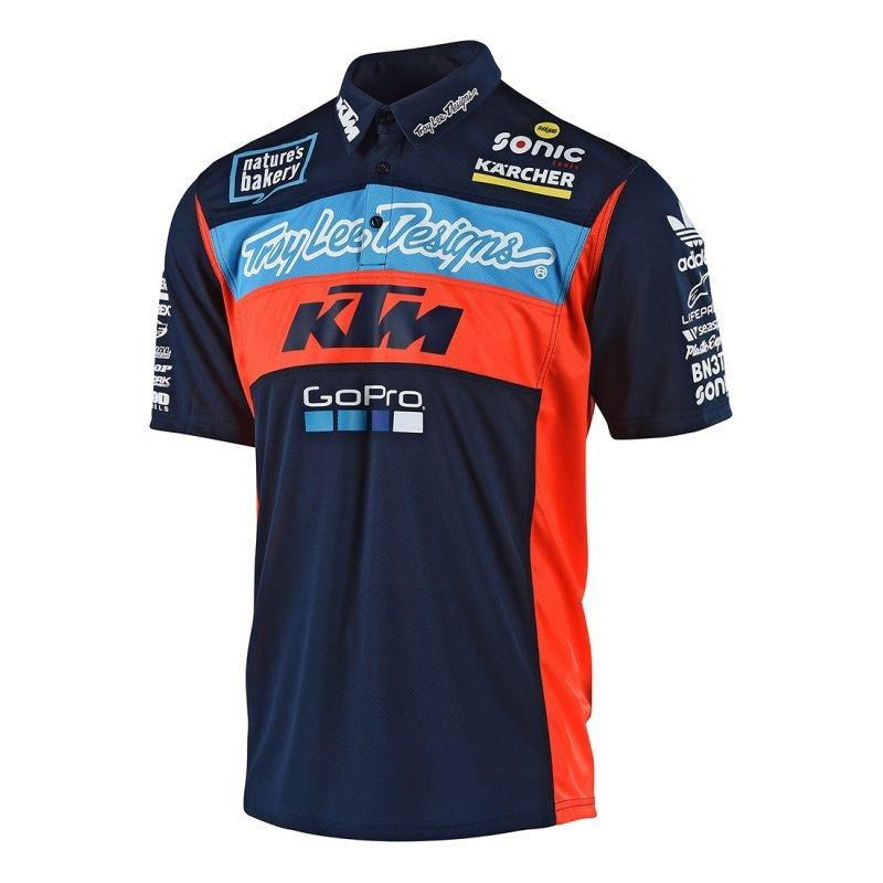 Polo Troy Lee Designs Edition KTM 2018 navy