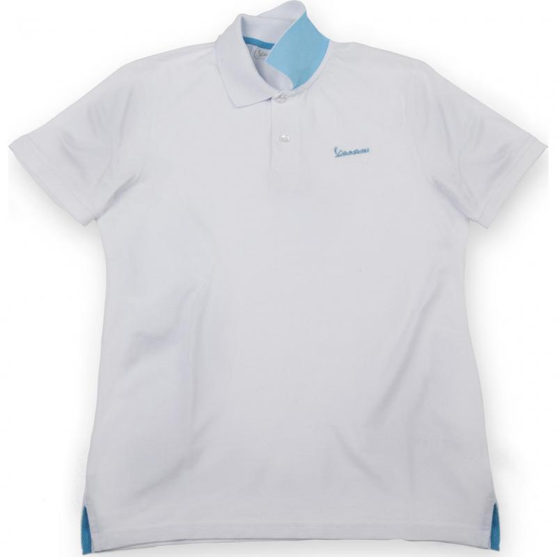 Polo Vespa Colours blanc