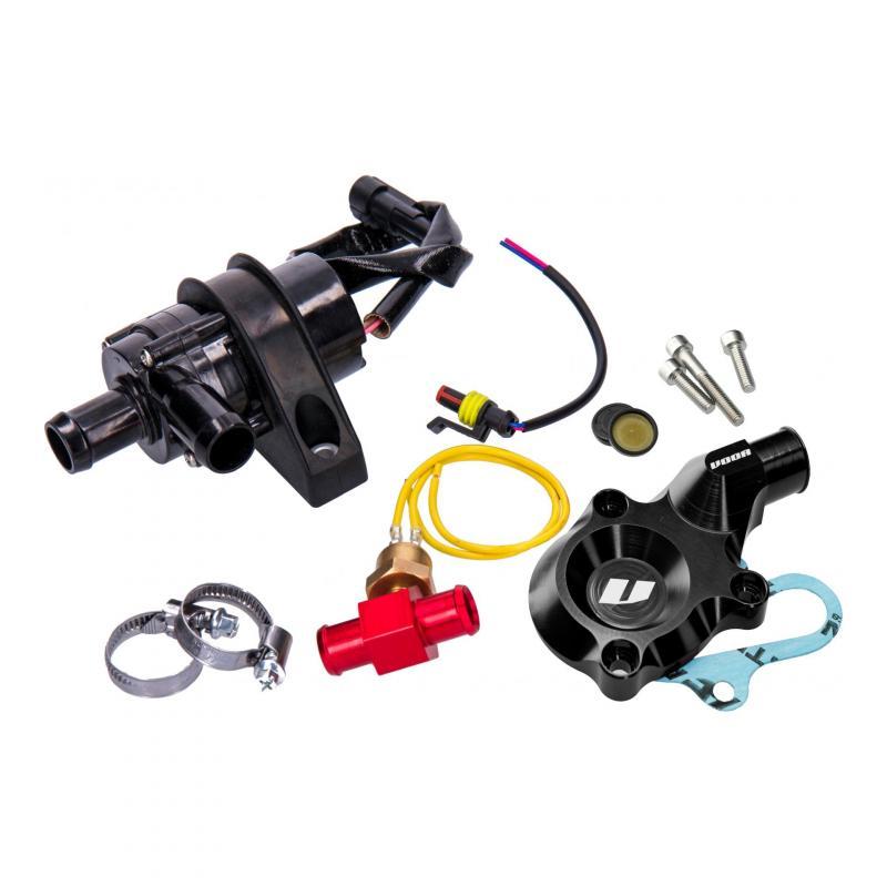 Pompe à eau Voca Racing électrique alu CNC noir AM6