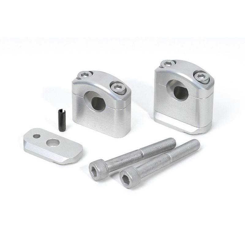 Pontets de guidon LSL rabaisse -5 mm pour guidon d'origine Yamaha XJR 1300 99-17