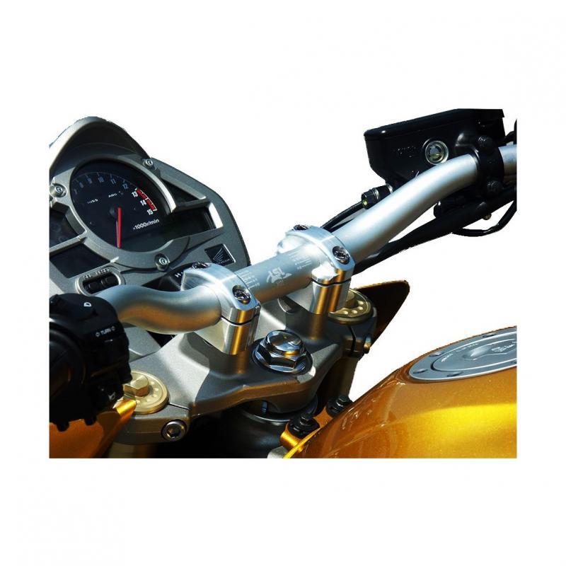 Pontets de guidon LSL rehausse +25 mm Ø28 Honda CB 600 F Hornet 07-14