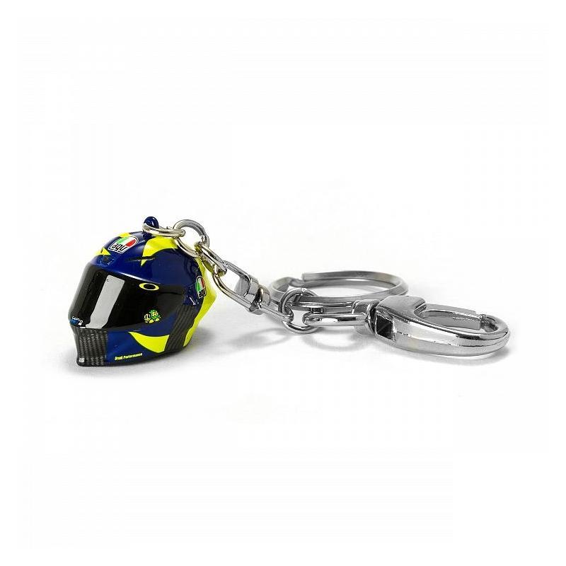 Porte clé 3D VR46 Valentino Rossi Casque Sole e Luna 2019