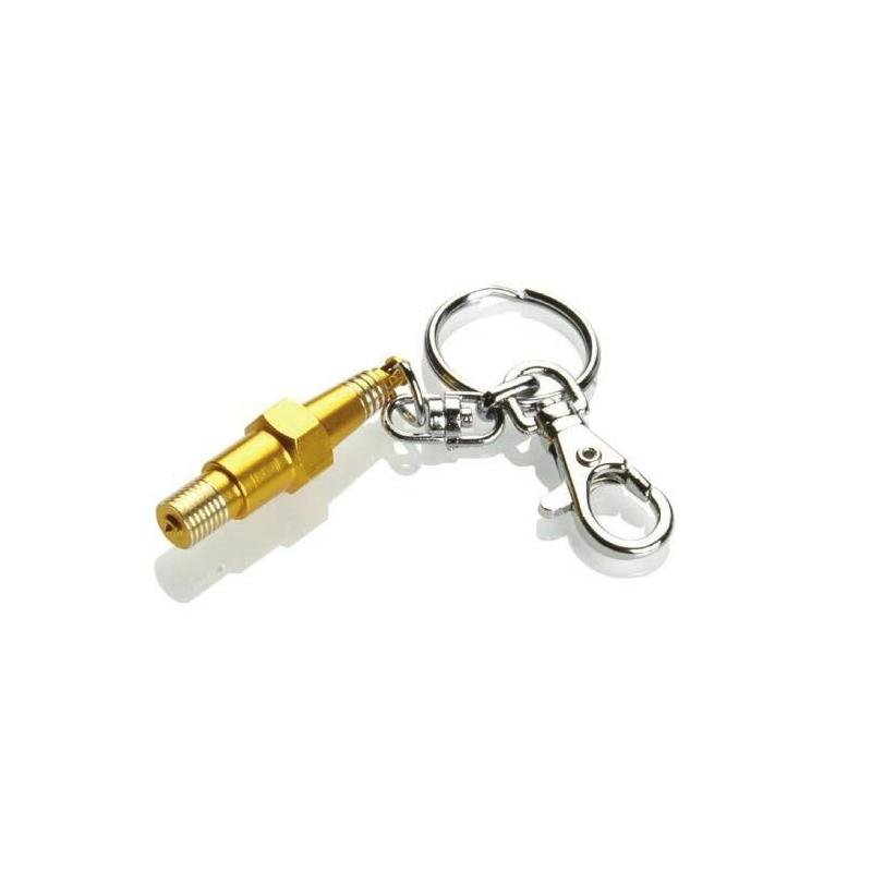 Porte-clé Booster Bougie or