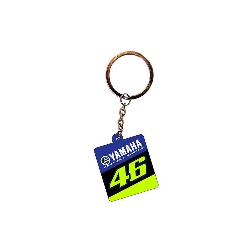 Porte-clé VR46 Racing Yamaha bleu/noir/jaune