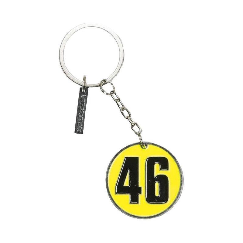 Porte clé VR46 Valentino Rossi 4x4cm 2016
