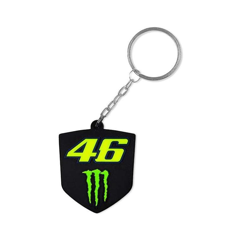 Porte-cléf VR46 Monster noir/vert