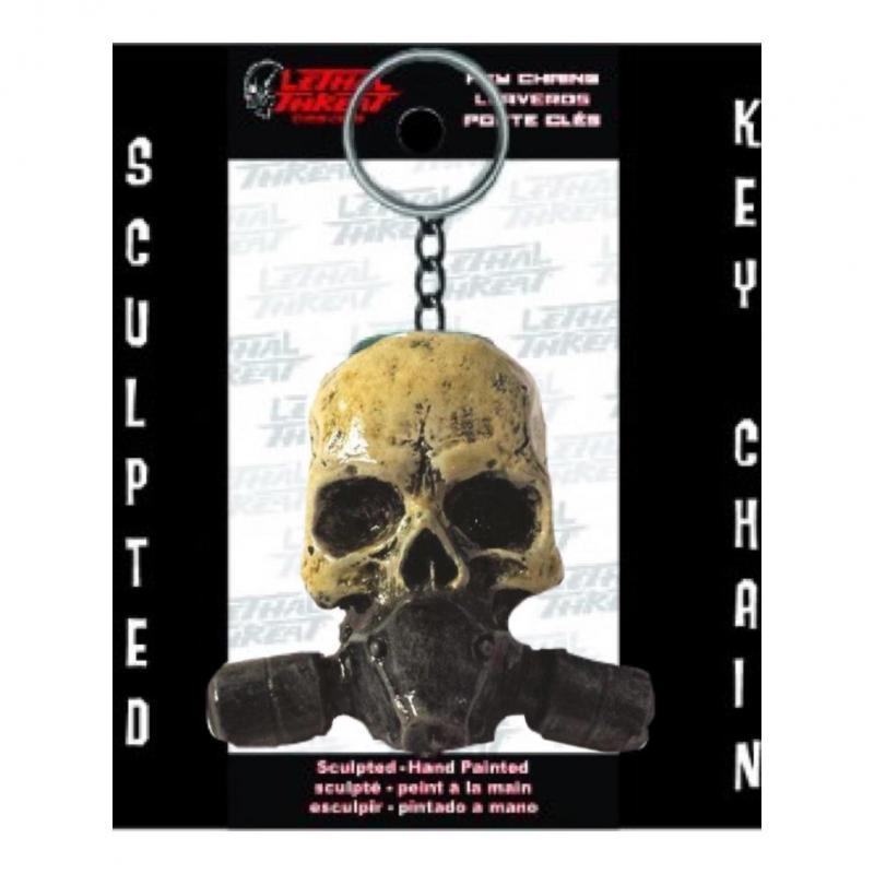 Porte-clés Lethal Threat Masque à gaz