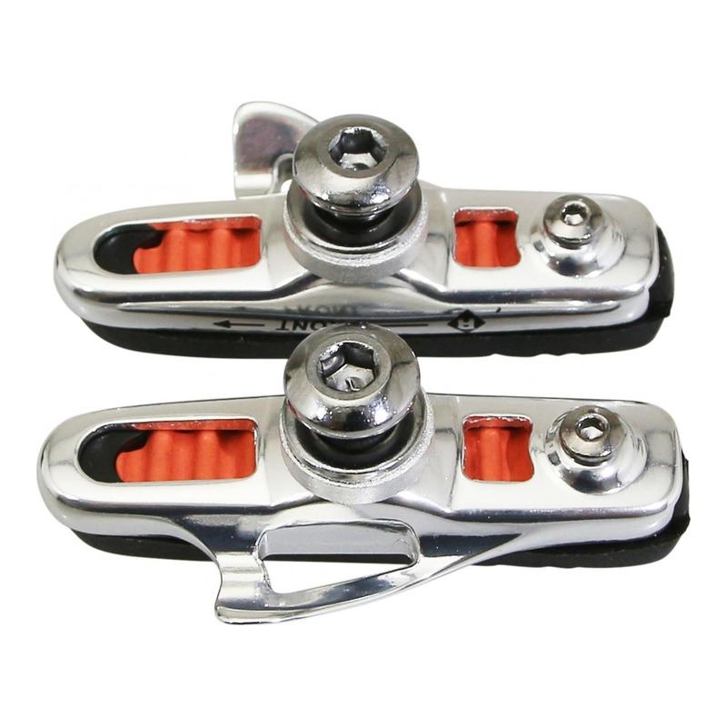 Porte-patins à cartouche ABS Newton Type Shinamo 55mm argent/noir
