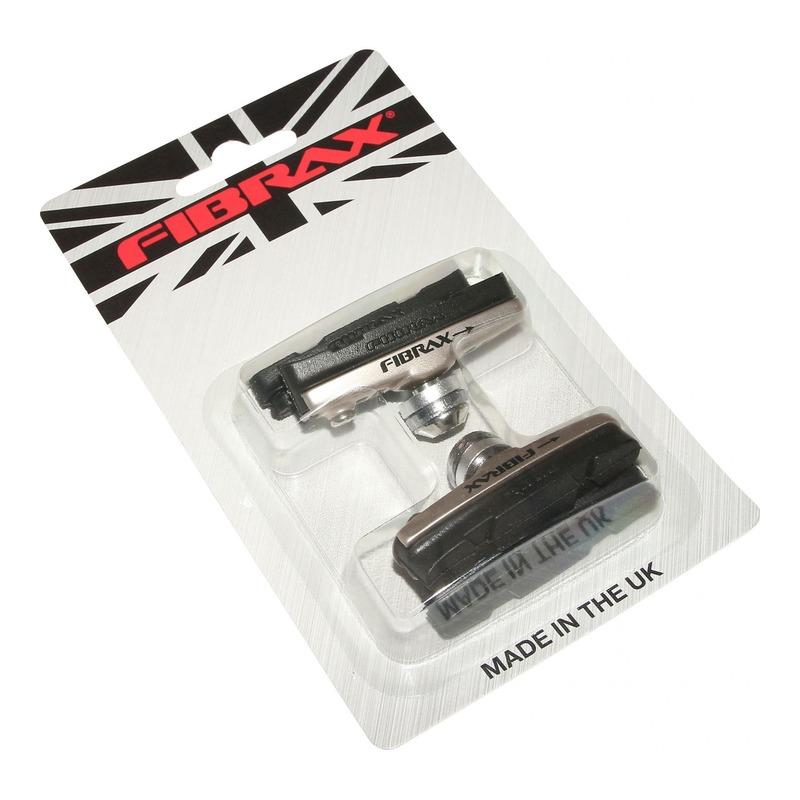 Porte-patins à cartouche Fibrax Type Shinamo 55mm argent/noir